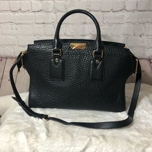 Burberry Clifton convertible tote heritage grain